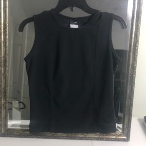 Nike dry fit sleeveless athletic top size L